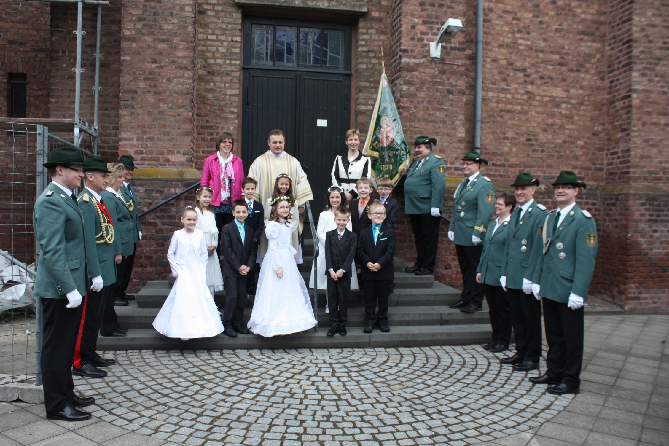 Erstkommunion 2013 in Oberzier und Ellen.