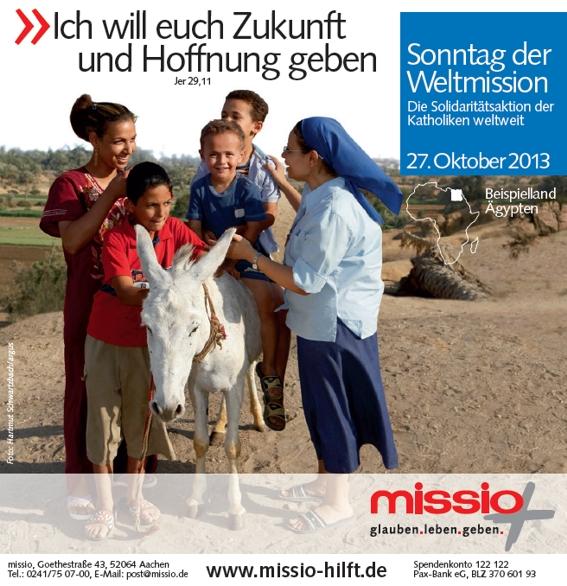Monat der Weltmission 2013