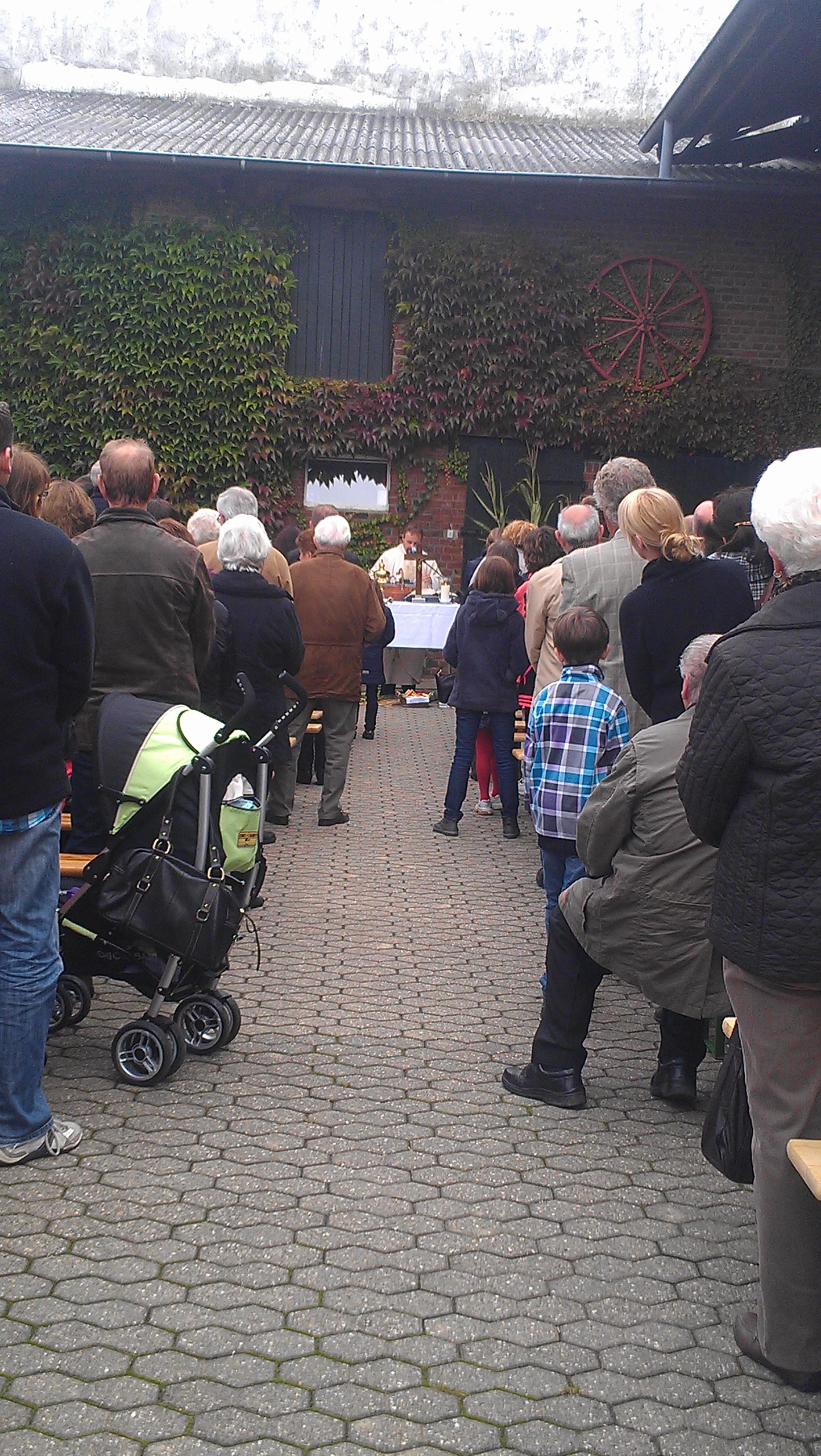 Erntedankfest in Oberzier 2013