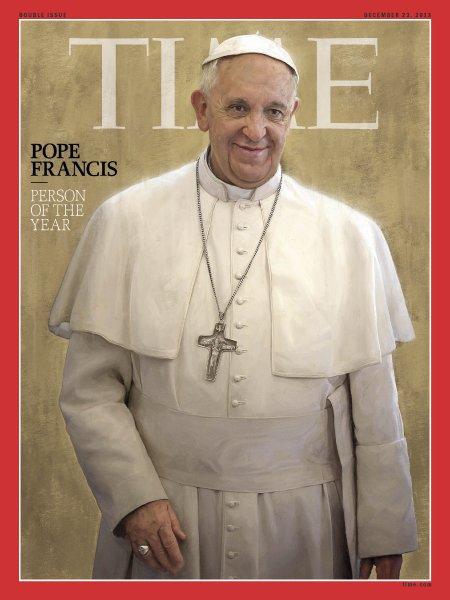 Papst Franziskus Mann des Jahres 2013