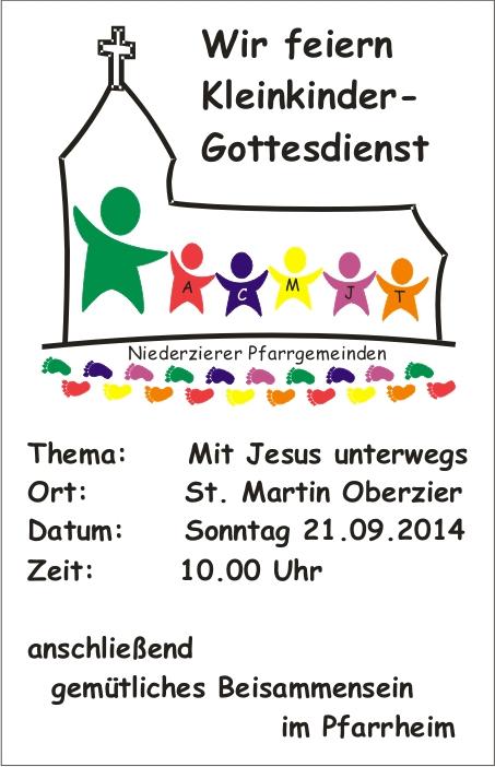 Kleinkinder-Gottesdienst