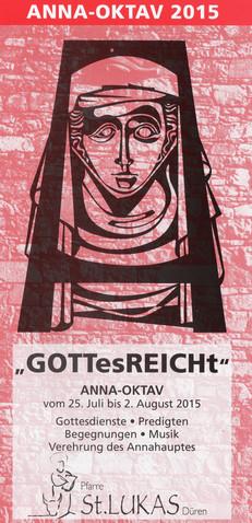 Heilige Messe für die GdG Merzenich/Niederzier zur Anna-Oktav 2015