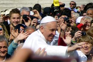 Papst Franziskus spricht am 24. September vor dem US-Kongress
