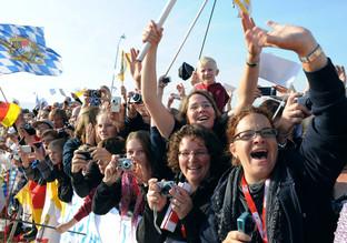Papst an Jugend: Im Heiligen Jahr lernt ihr Solidarität