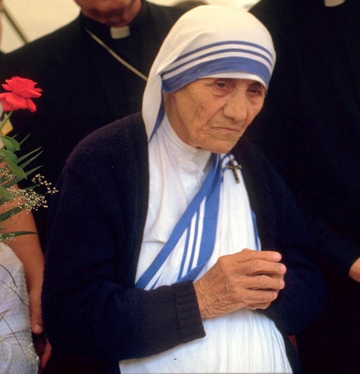 Mutter Teresa wird heilig gesprochen