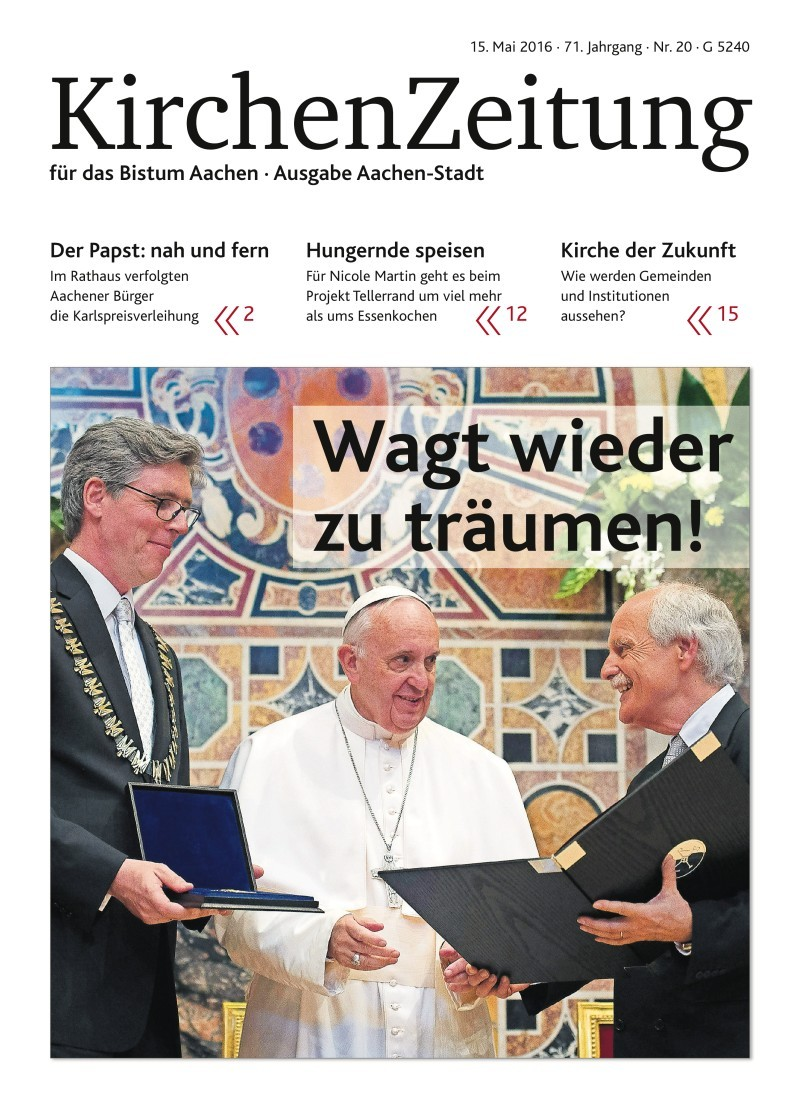 KirchenZeitung für das Bistum Aachen in neuem Gewand