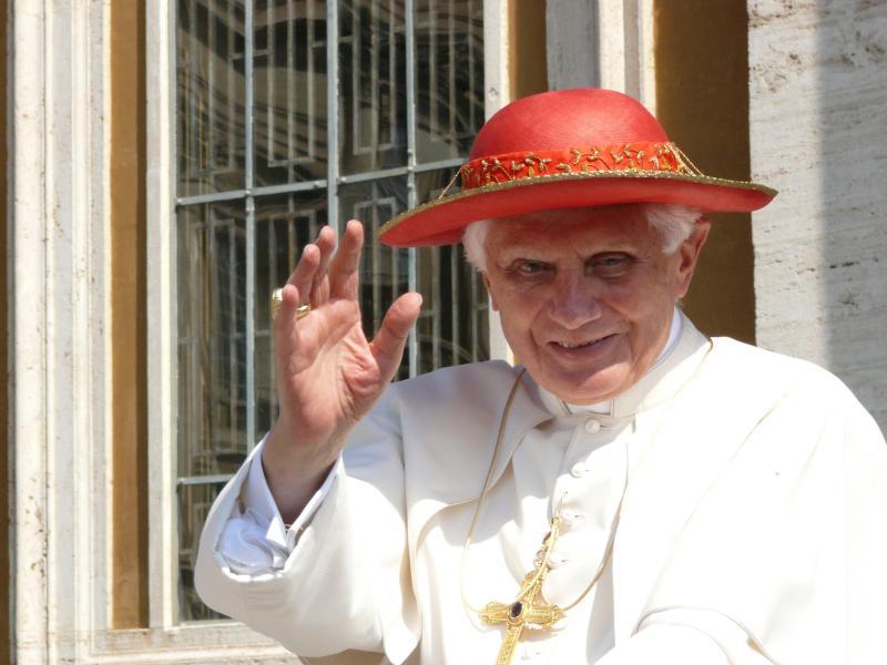 """Emeritierter Papst Benedikt XVI. sieht sich nicht als """"Gescheiterten"""""""