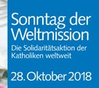 Weltmissionssonntag 2018