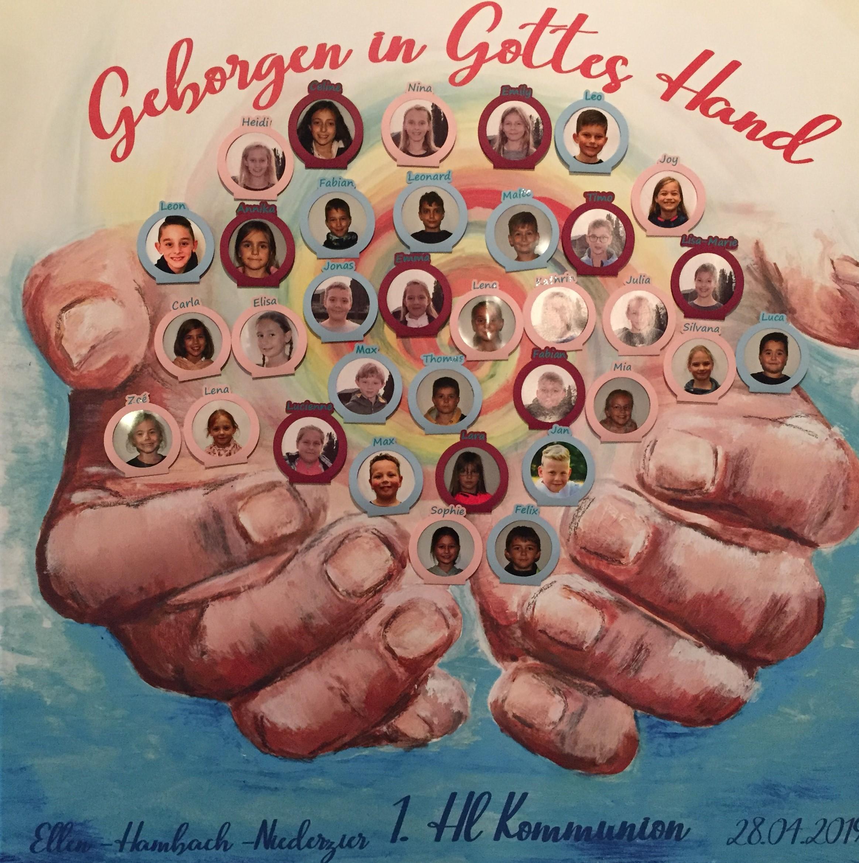 55 Erstkommunionkinder stellten sich vor