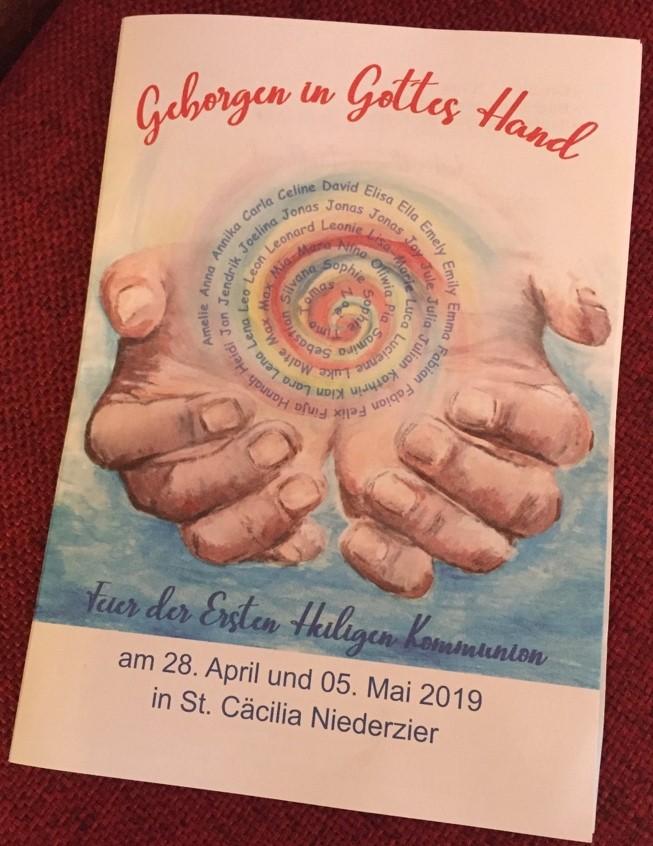 Erstkommunion am 05. Mai 2019