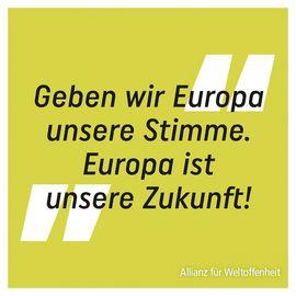 Geben wir Europa unsere Stimme – Europawahl am 26. Mai