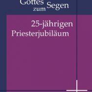 Pfarrer Andreas Galbierz feiert sein 25. Priesterjubiläum
